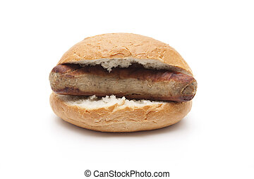 Bratwurst in Bread roll