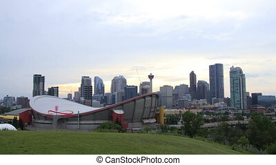 Saddledome Dusk