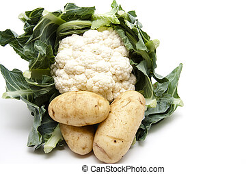 Cauliflower with potatos