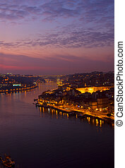 Porto and river Douro, Portugal - Porto and river Douro at...