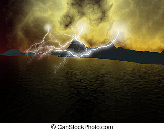 Lightning galore .