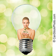 Environment friendly bulb