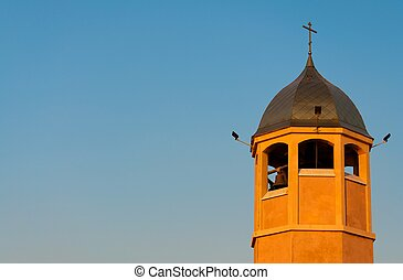 Belltower - The bell tower of St. Nicholas Church in Odessa...