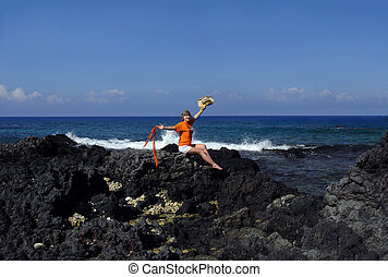 Big Island New Life - Mature woman in her mid 50's is...