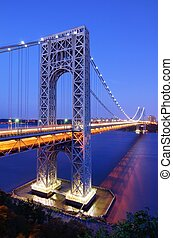 George Washington Bridge in New York - The George Washington...