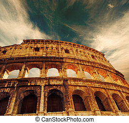 Colosseum, (Rome, Italy)