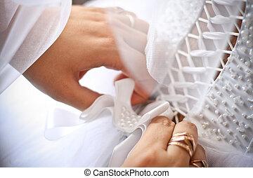 Wedding corset