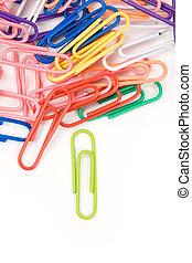 Paper Clip close up for background