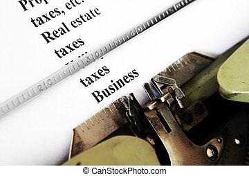 Tax business