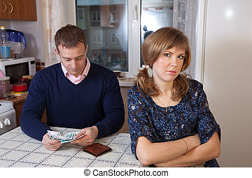 Financial problems in the family - The quarrel in the family...
