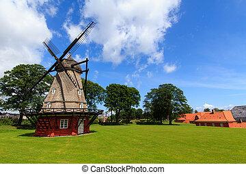 Mill in Kastellet