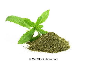 seco, fresco,  rebaudiana,  stevia