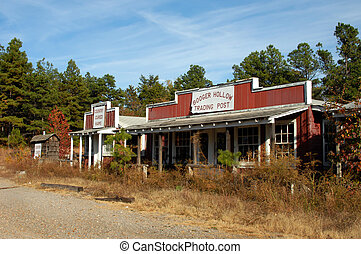 Arkansas Booger Hollow - Once a landmark business, Booger...