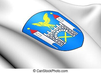 Zlocieniec Coat of Arms, Poland.