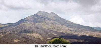 Panorama Batur volcano