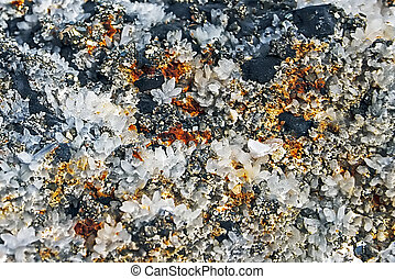 Crystal stones 7 - Mineral crystals and stones in various...