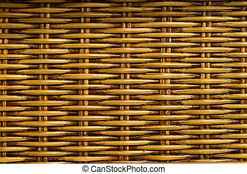 Rattan background - Abstract background from natural rattan...