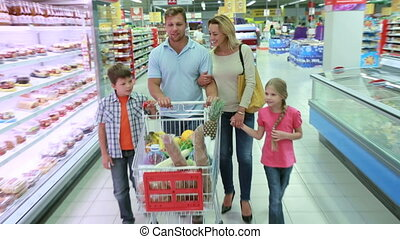 Happy in shopping
