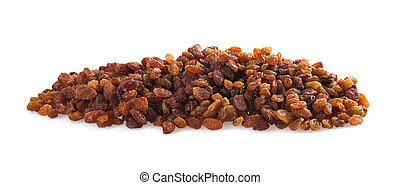 sultana raisins - Sultana raisins isolated on white