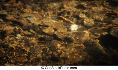 clear water - creek with clear water and stones