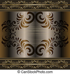 abstract vintage elegant vector background with a...