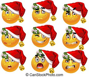 9 emotion Xmass smiles