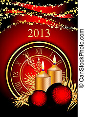 2013 New Year - Vector 2013 New Year background