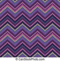 Beautiful Knitted Fabric Pattern
