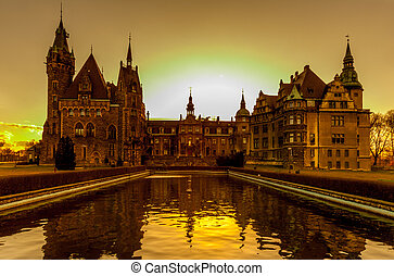 Moszna castle in Poland - Awesome Moszna castle in Poland...