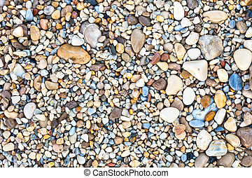 Pebbles - Nice background image of pepples on a beach