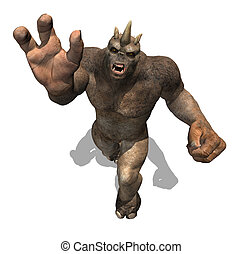 Beware of the Attacking Troll - A powerful troll attacks, as...