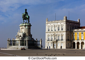 Commerce Square, LIsbon, Portugal - Commerce Square is...