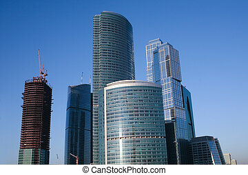 Moscow business centre