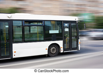 white city bus