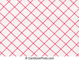 Red striped tablecloth seamless pattern