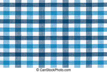 Blue and white tablecloth background