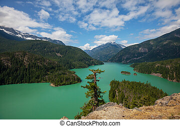 Diablo lake - Diablo Lake,Washington