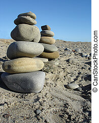 Natural Monuments - Mother Nature Monuments of Grey Rocks...