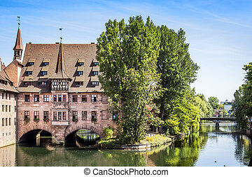 Heilig Geist Spital Nuremberg Bavaria Germany - An image of...