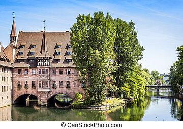 Heilig Geist Spital Nuremberg Bavaria Germany - An image of...