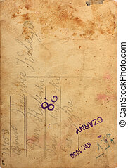 Old, stained paper background