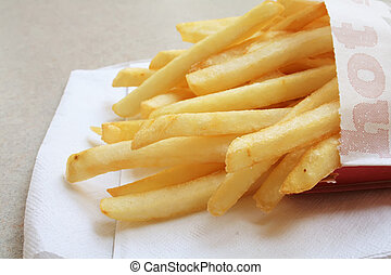 French Fries the fast food meal