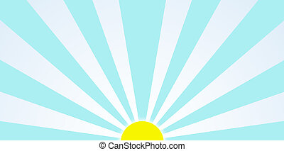 Morning Sun Graphic During Sunrise Clip Art - Sunrise in the...