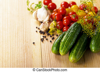 vegetables - abstract design background vegetables on a...