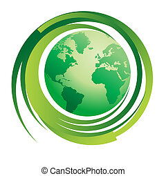 green world concept - Environmental concept image...green...
