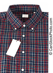 Red checked pattern shirt - Red color shirt for men in...