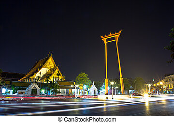 Giant Swing in bangkok thailand