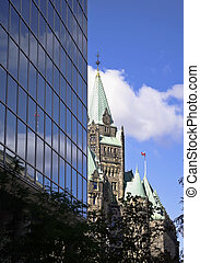 Confederation Building - The canadian Parliament...