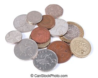 GBP coins - British Sterling Pound (GBP) coins