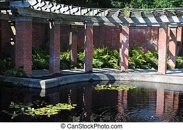 Vanderbilt Garden Walkway